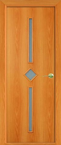 Дверь межкомнатная маэстро беленый дуб стекло белое ростра